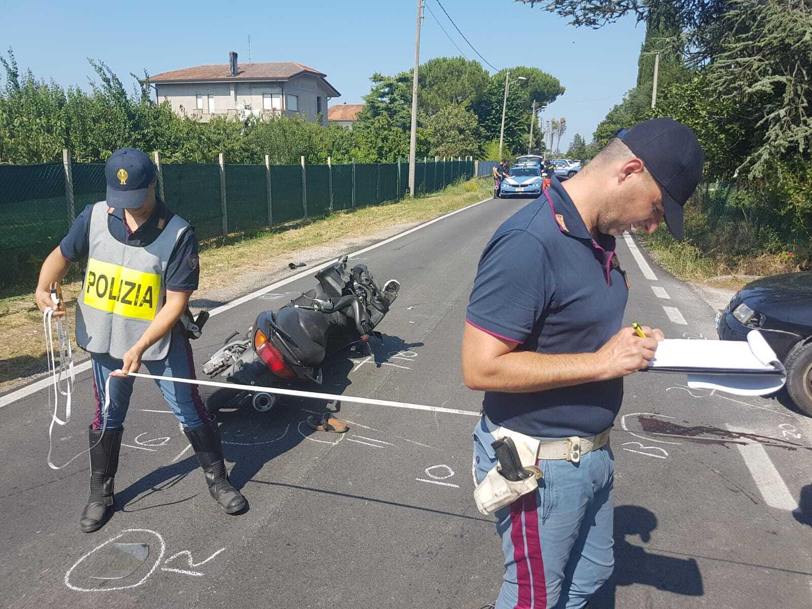 Raffica di incidenti, un morto e tanti feriti a Rimini