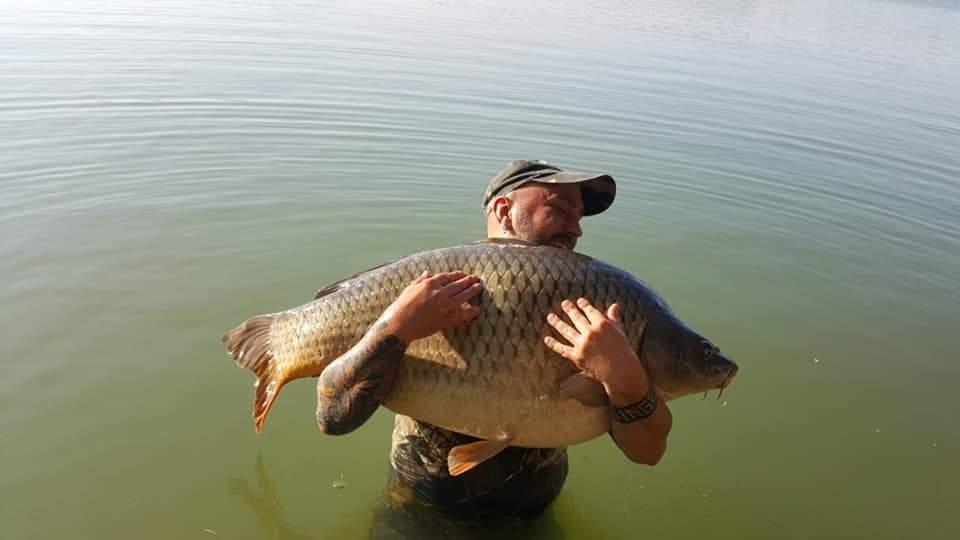 Ravenna, cattura record al lago Le Ghiarine