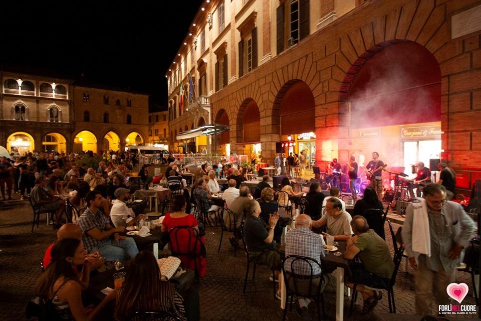 Forlì saluta i Mercoledì del Cuore 2019