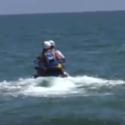 Cervia, bufera per il figlio di Salvini su moto d'acqua della polizia