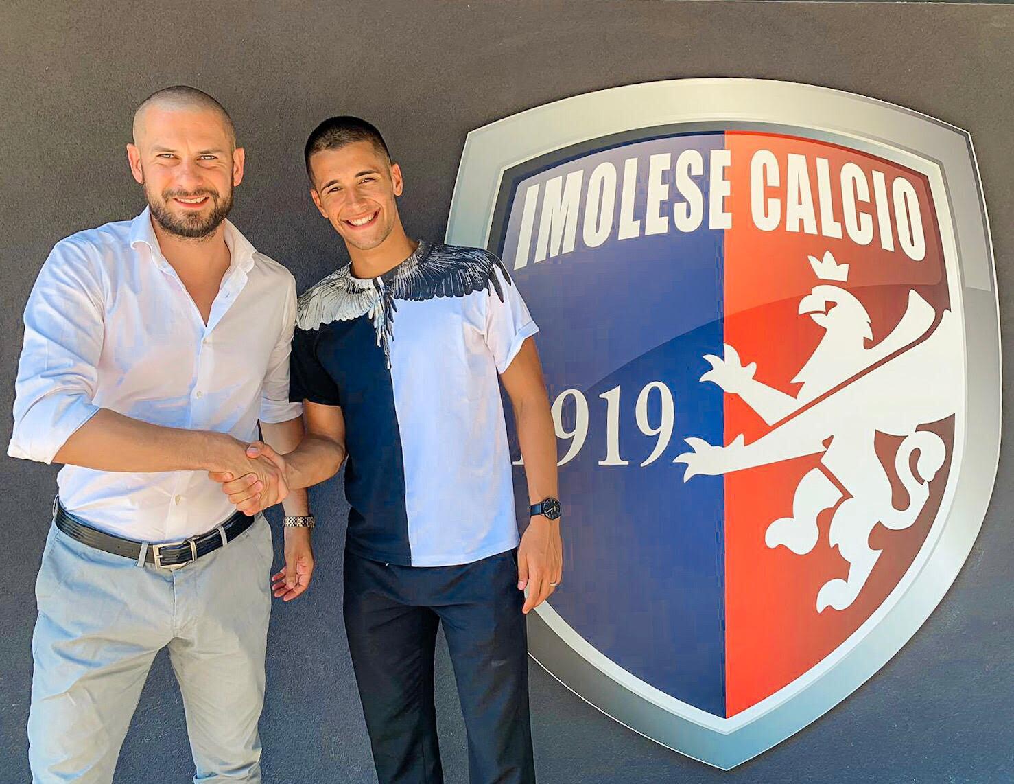 Calcio serie C, D'Alena firma con l'Imolese
