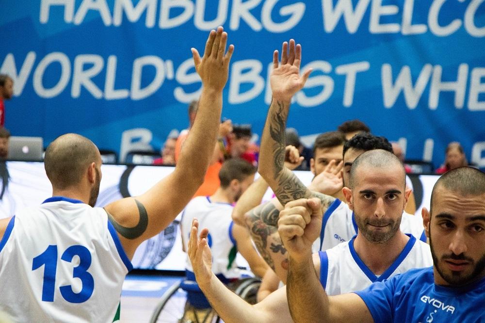 Basket in carrozzina, tre nazionali a San Patrignano