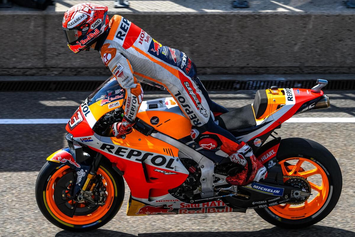 MotoGp, dominio Marquez Dovizioso solo quinto