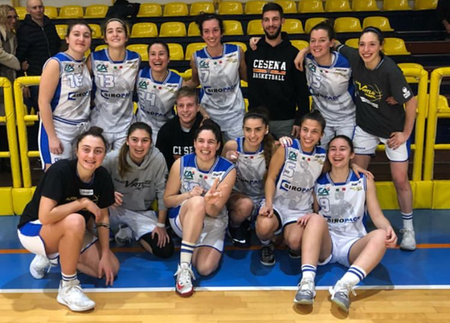 Basket, la Nuova Virtus Cesena rinuncia alla serie B