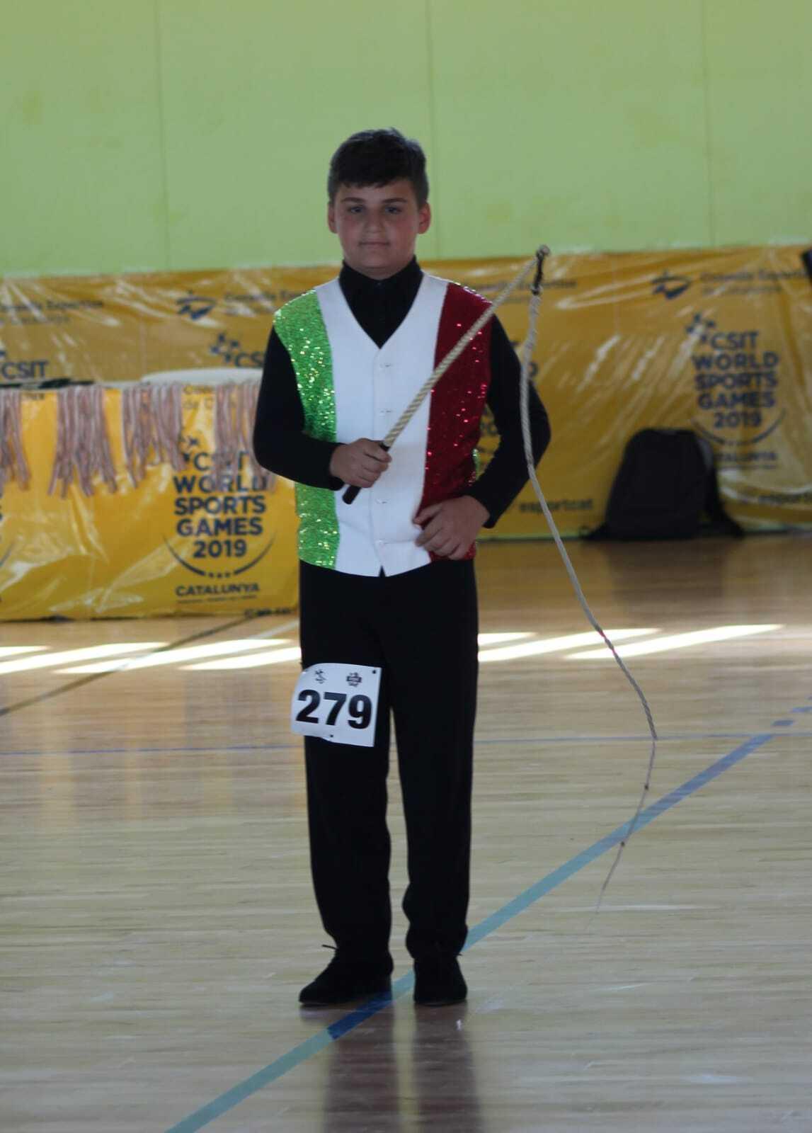 Olimpiadi amatoriali, oro per il bambino di Forlì campione delle fruste