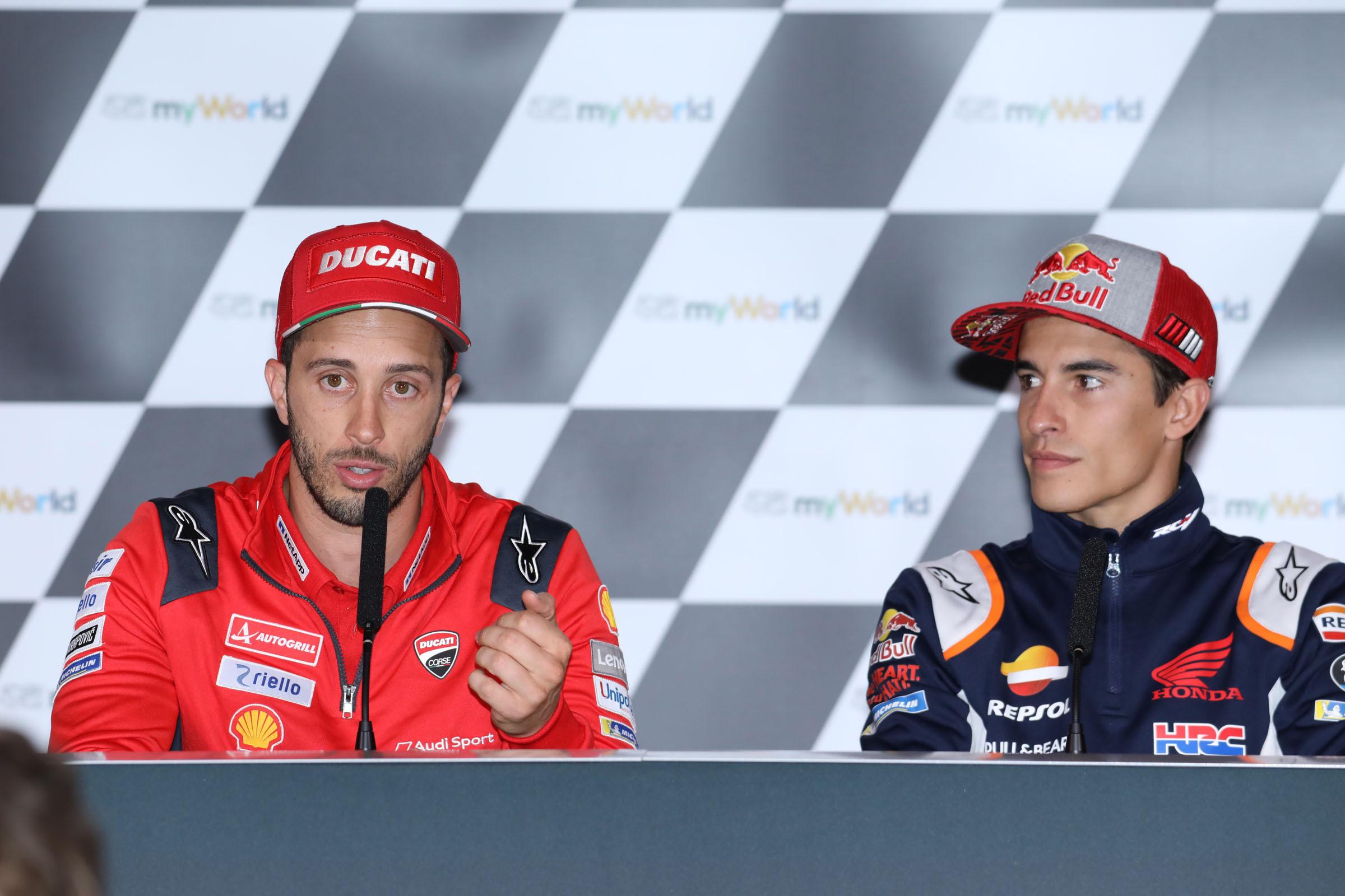 MotoGp, Marquez in pole in Austria e Dovizioso 3°
