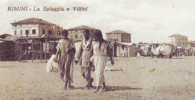 Rimini tra Ottocento e Novecento: amori sulla sabbia