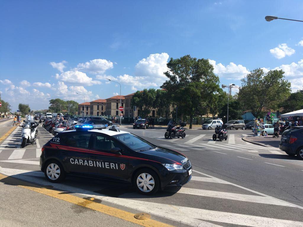 Rimini, predone della spiaggia arrestato dai carabinieri