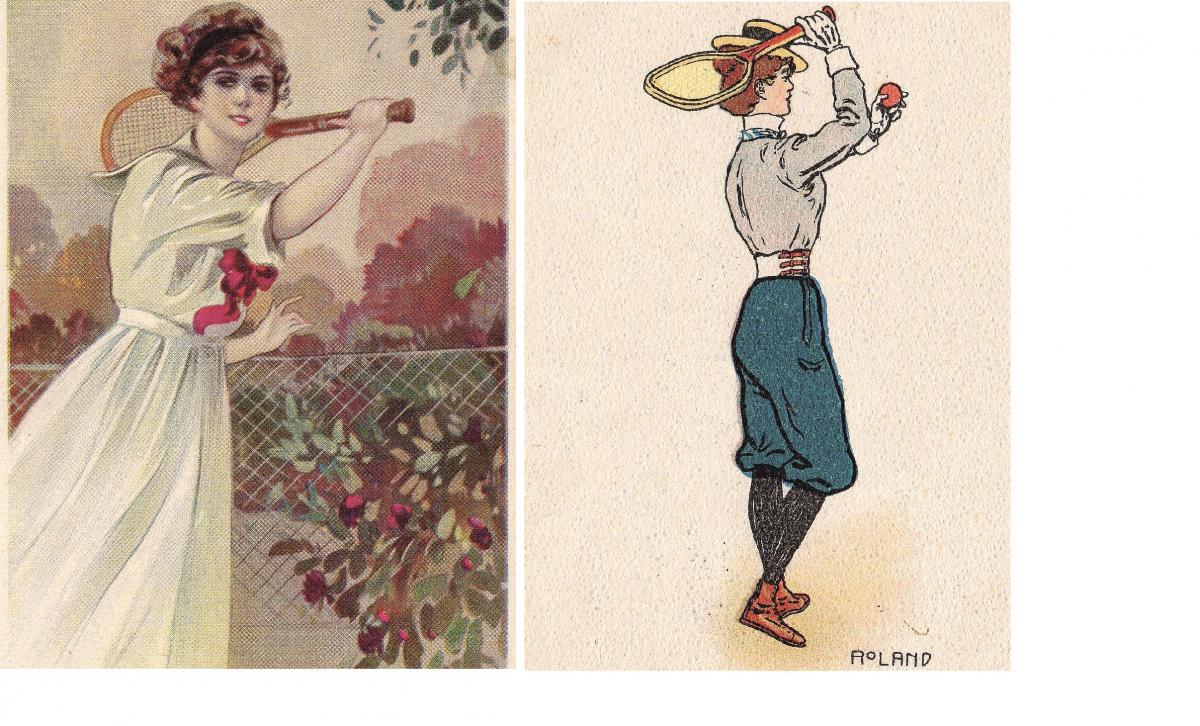 Nell'estate del 1900 arriva a Rimini il gioco inglese per signore