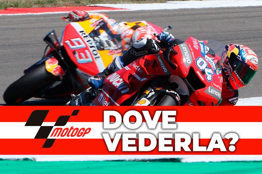 MotoGP Austria 2019: Orari e dove vederla in diretta TV e streaming