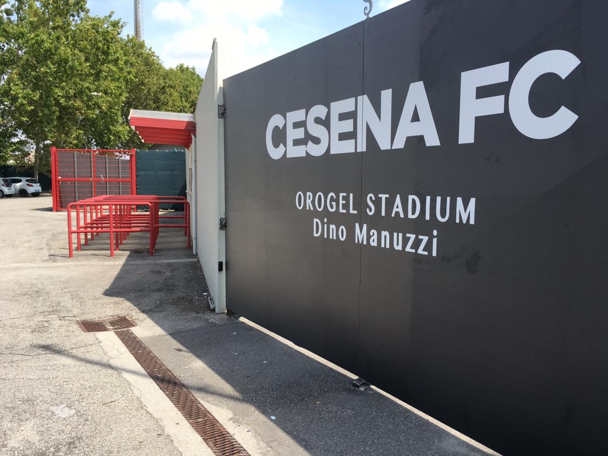 Calcio, al via la prevendita per Cesena - Modena