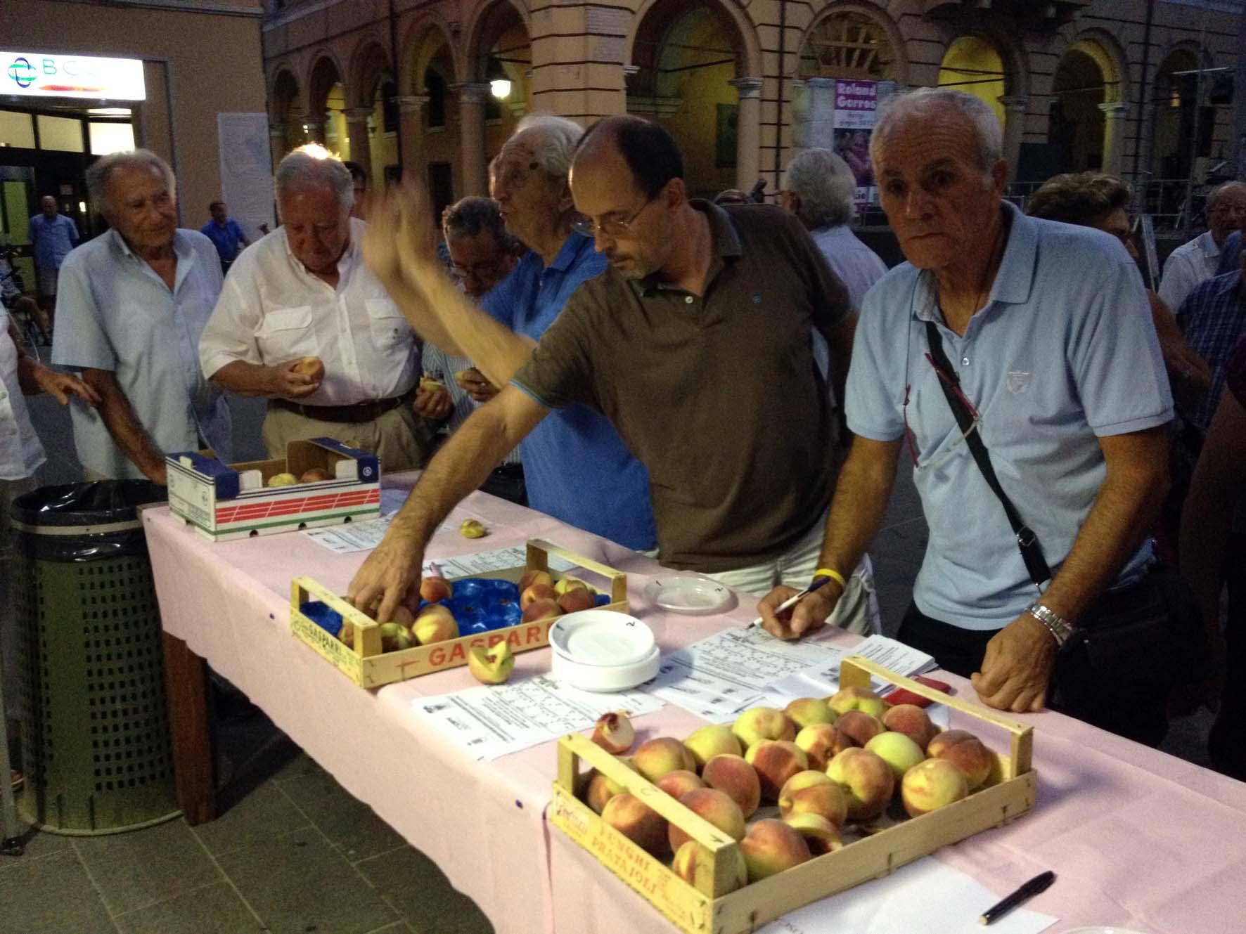 """A Massa Lombarda torna la festa della """"pesca del buco incavato"""""""
