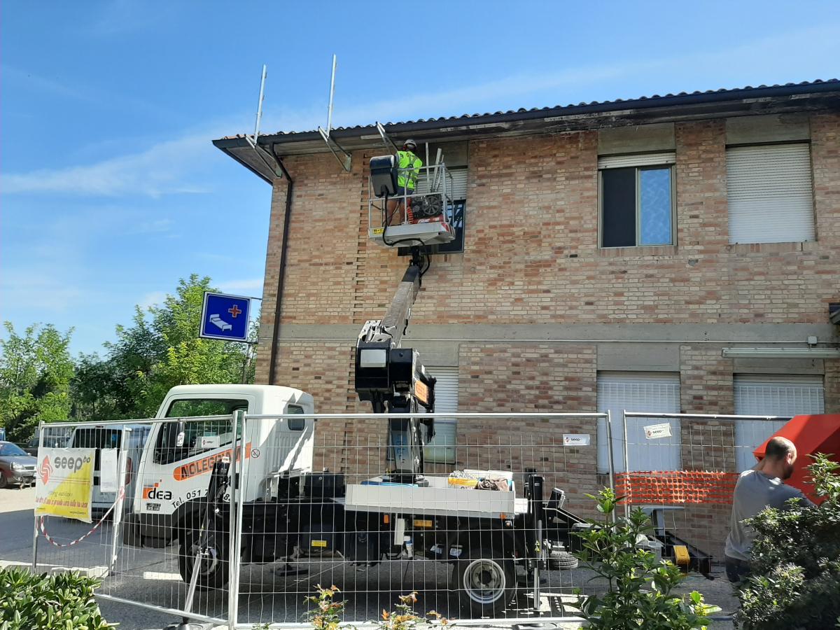 Mercato Saraceno, i lavori al Cappelli: ora tocca al tetto