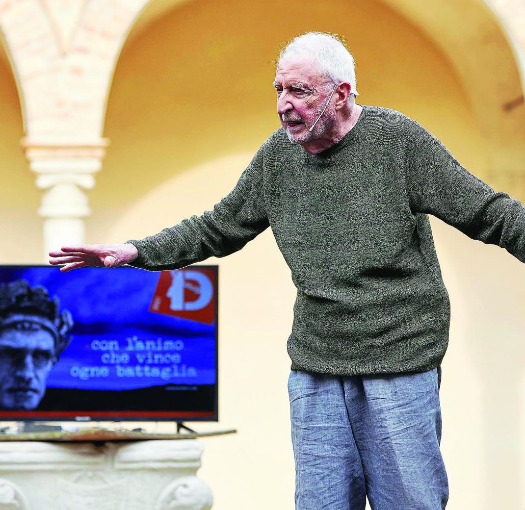"""Ravenna,  Gazzolo omaggia Boccaccio a """"Dante2021"""""""