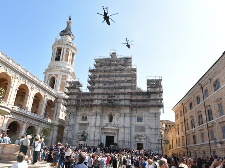 Soccorsi dal cielo, lo Stormo di Pisignano di Cervia premiato a Loreto
