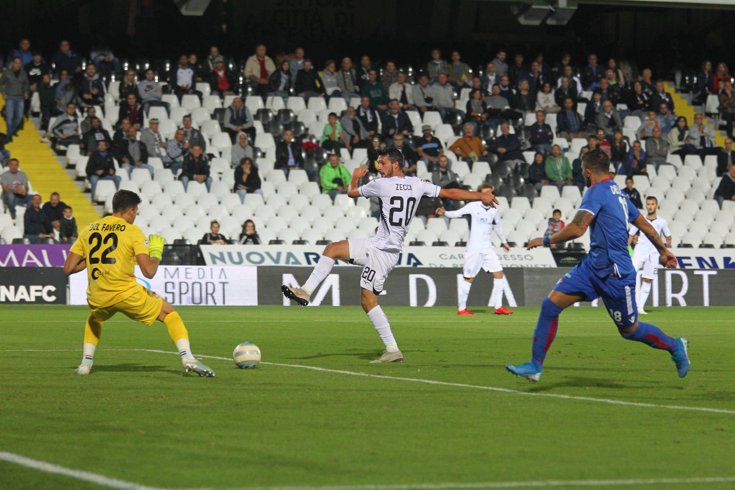 Calcio serie C, un punto a testa tra Cesena e Piacenza (1-1)
