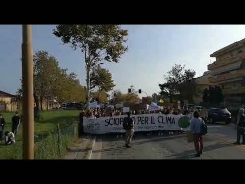 Fridays for future a Rimini, il corteo - I VIDEO