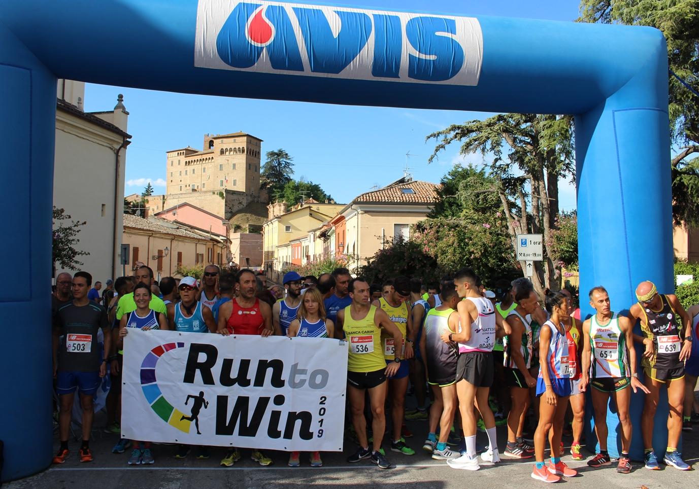 Run to win 2019: in 600 di corsa a Longiano