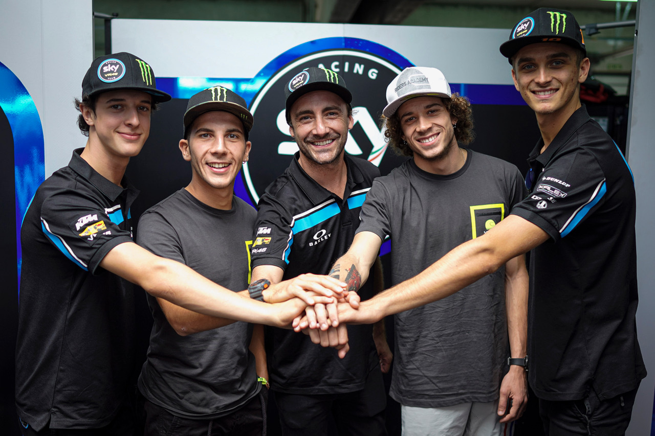 Motociclismo, Migno e Bezzecchi nel 2020 con il Team Sky