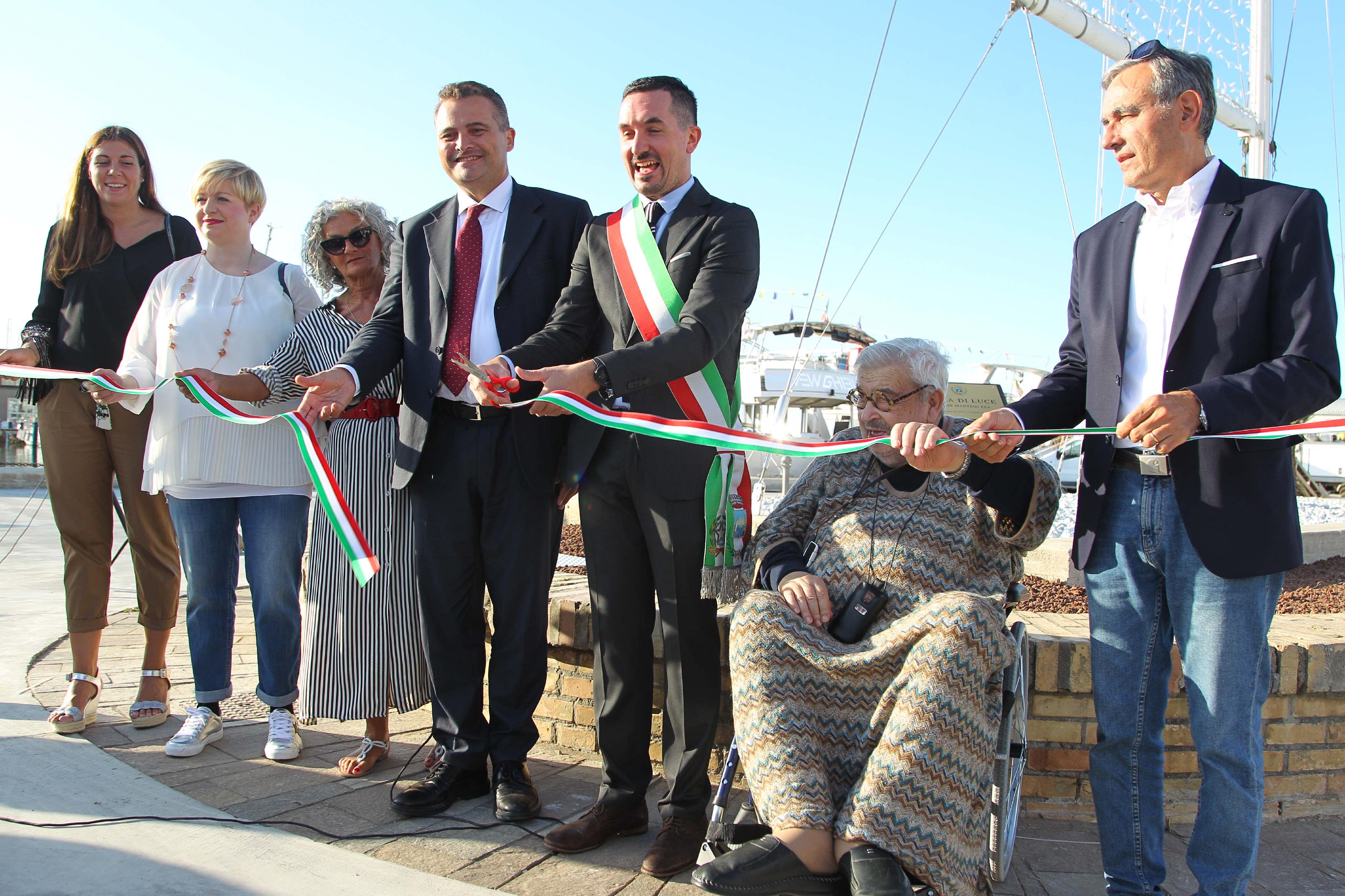 Cesenatico: inaugurazione dei lavori al porto