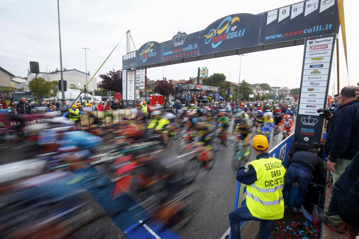 Nove Colli, azione legale contro i ciclisti non-negativi ai controlli