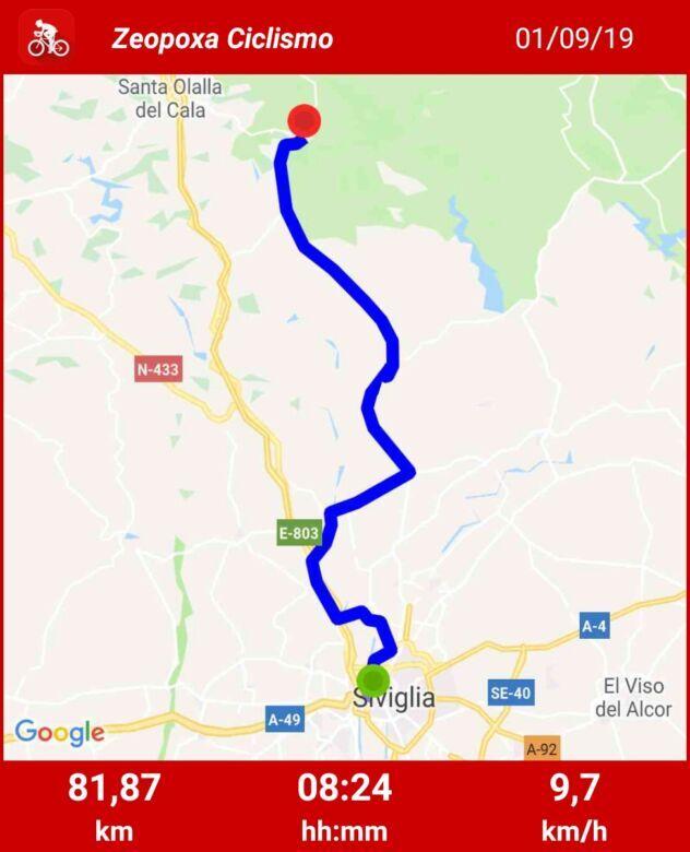Verso Santiago, prima tappa: da Siviglia ad Almaden della Plata