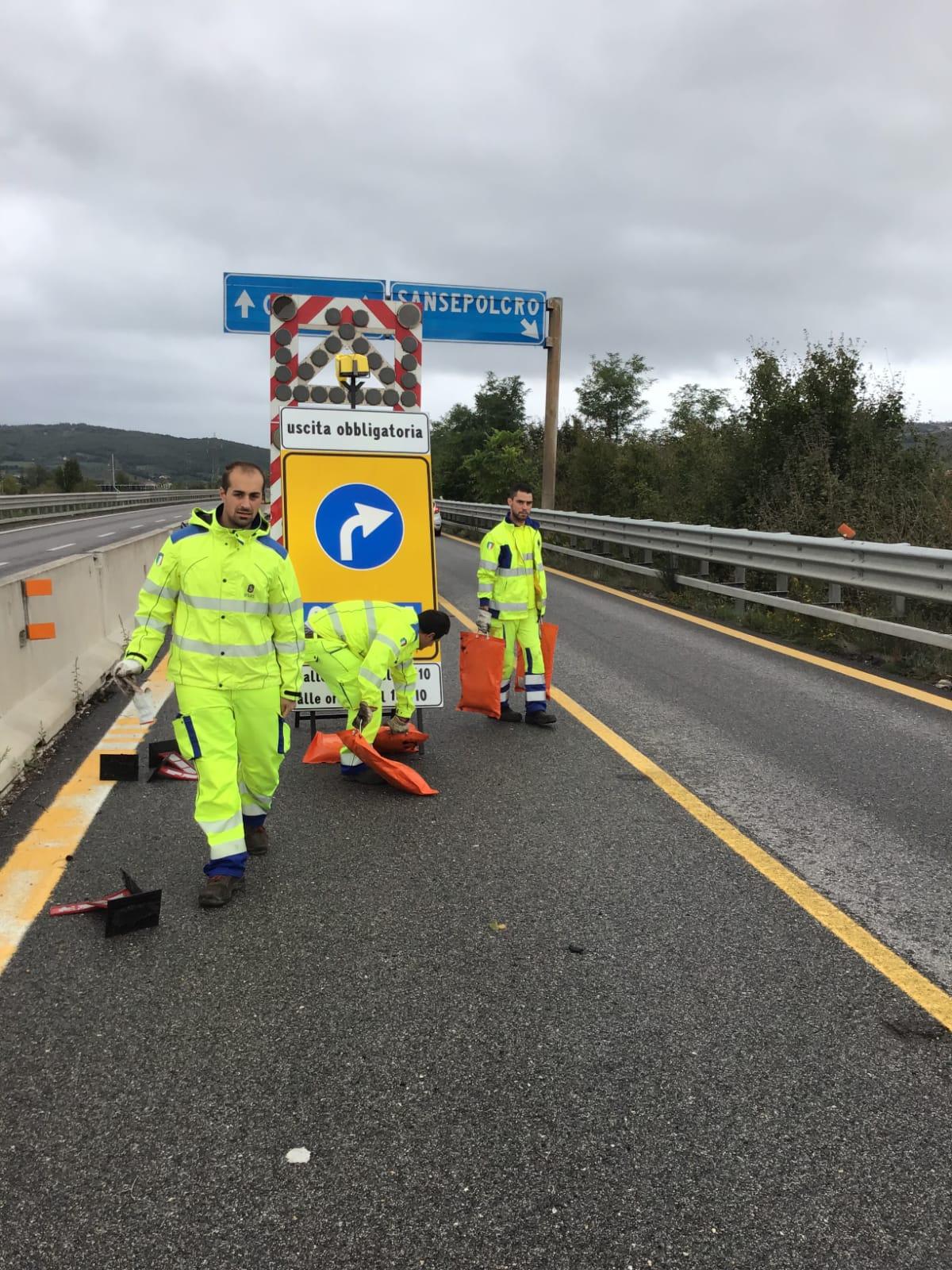"""Riaperta l'E45 anche ai mezzi pesanti. Il viadotto """"Puleto"""" è sicuro"""
