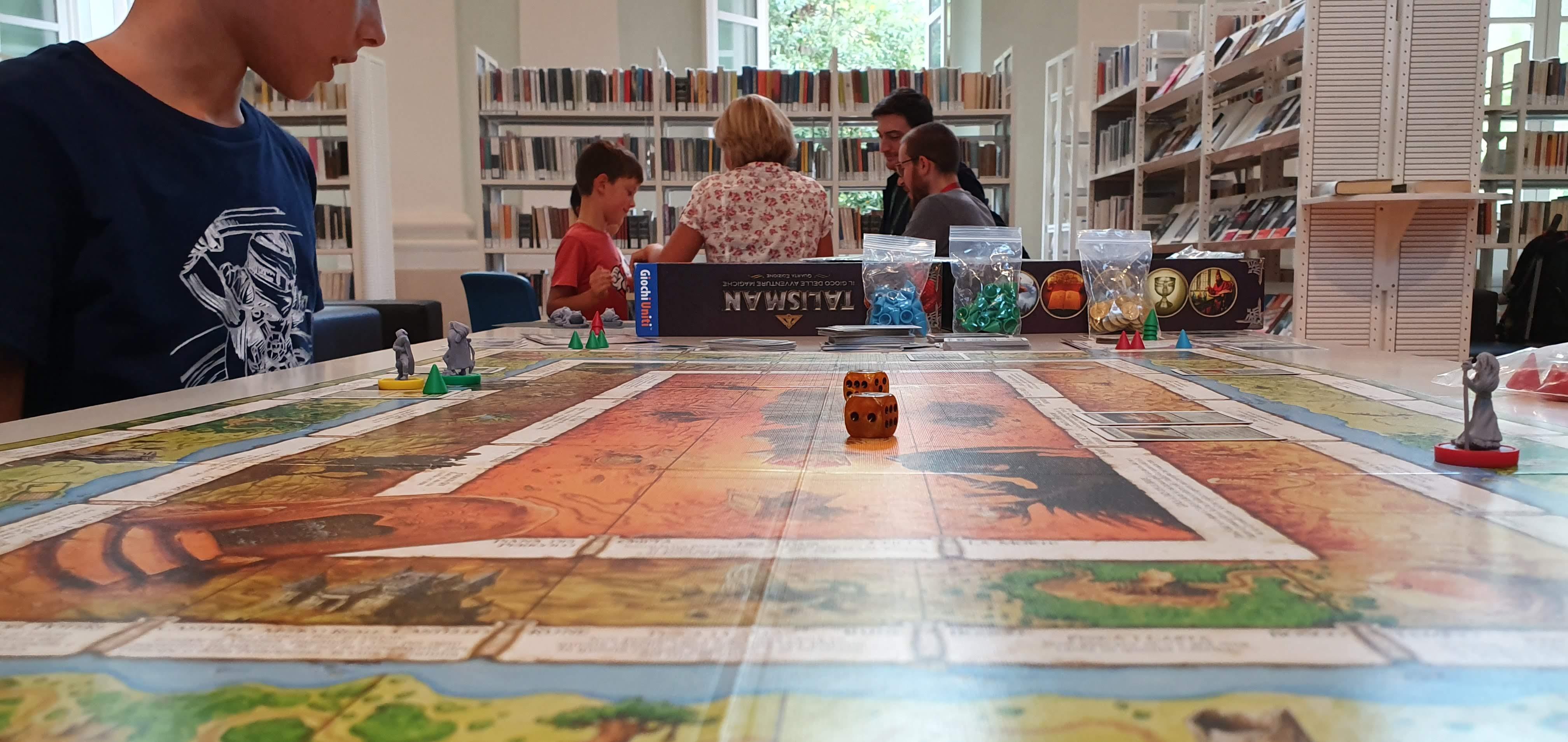 Cesena, giochi da tavolo al posto dei libri alla Malatestiana Gaming
