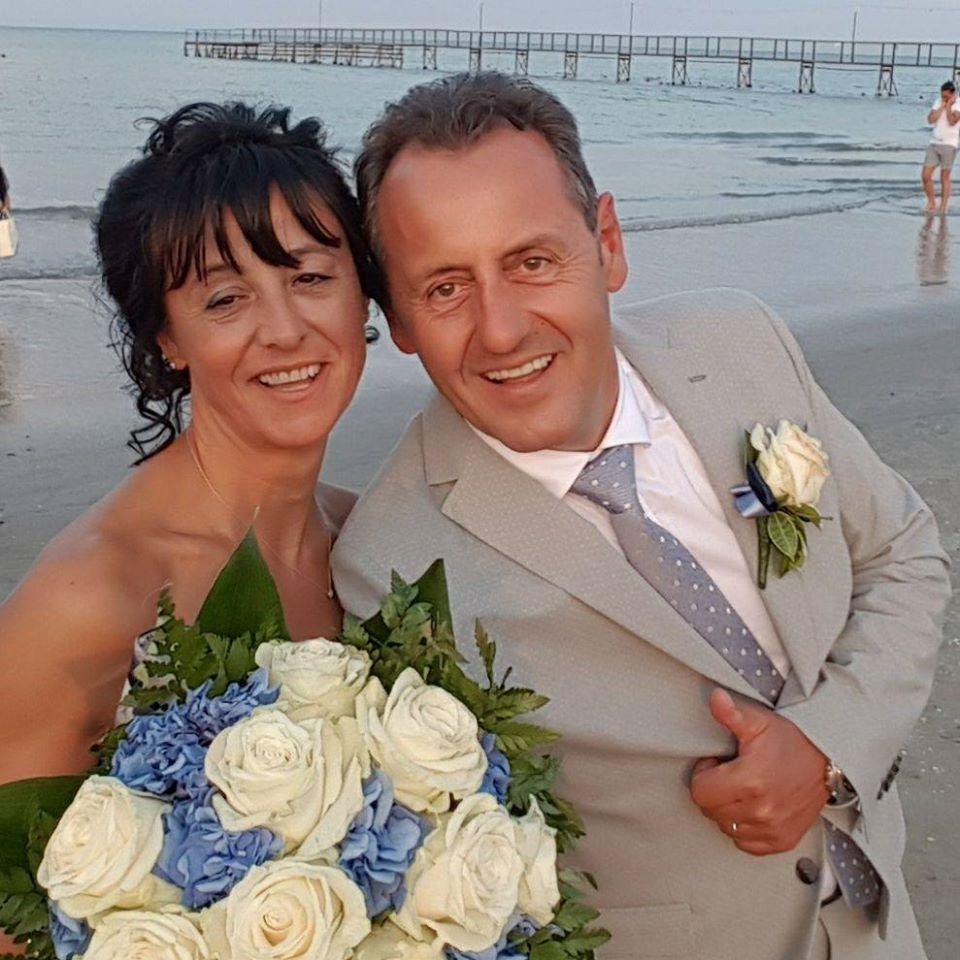 Sposi travolti da un furgone a Verucchio, è morto anche il marito