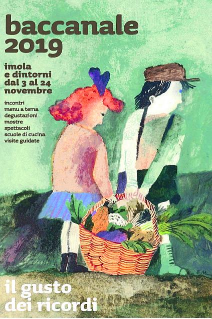 Imola, Beatrice Alemagna illustra il Baccanale 2019