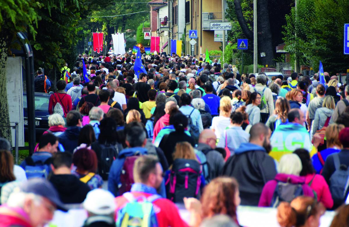 Marcia della pace, nel Forlivese in 2mila nel nome di Annalena Tonelli