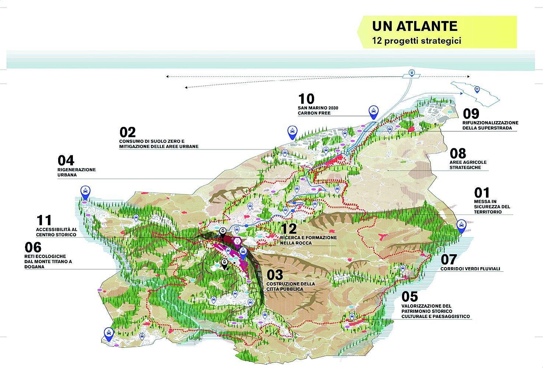 Boeri firma il nuovo Prg di San Marino all'insegna dell'ambiente