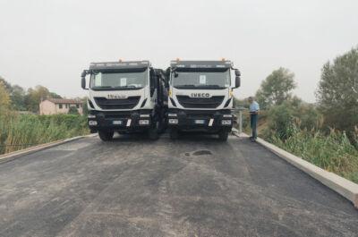 Ravenna, lavori finiti in anticipo al ponte Assi. Via a prove carico