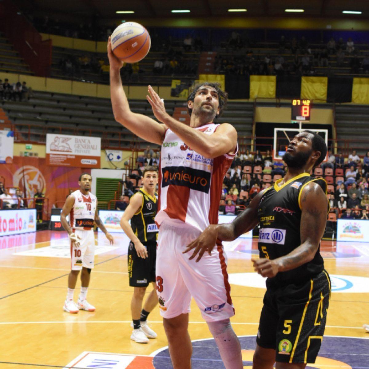 Basket A2, l'Unieuro ferma la corsa di San Severo