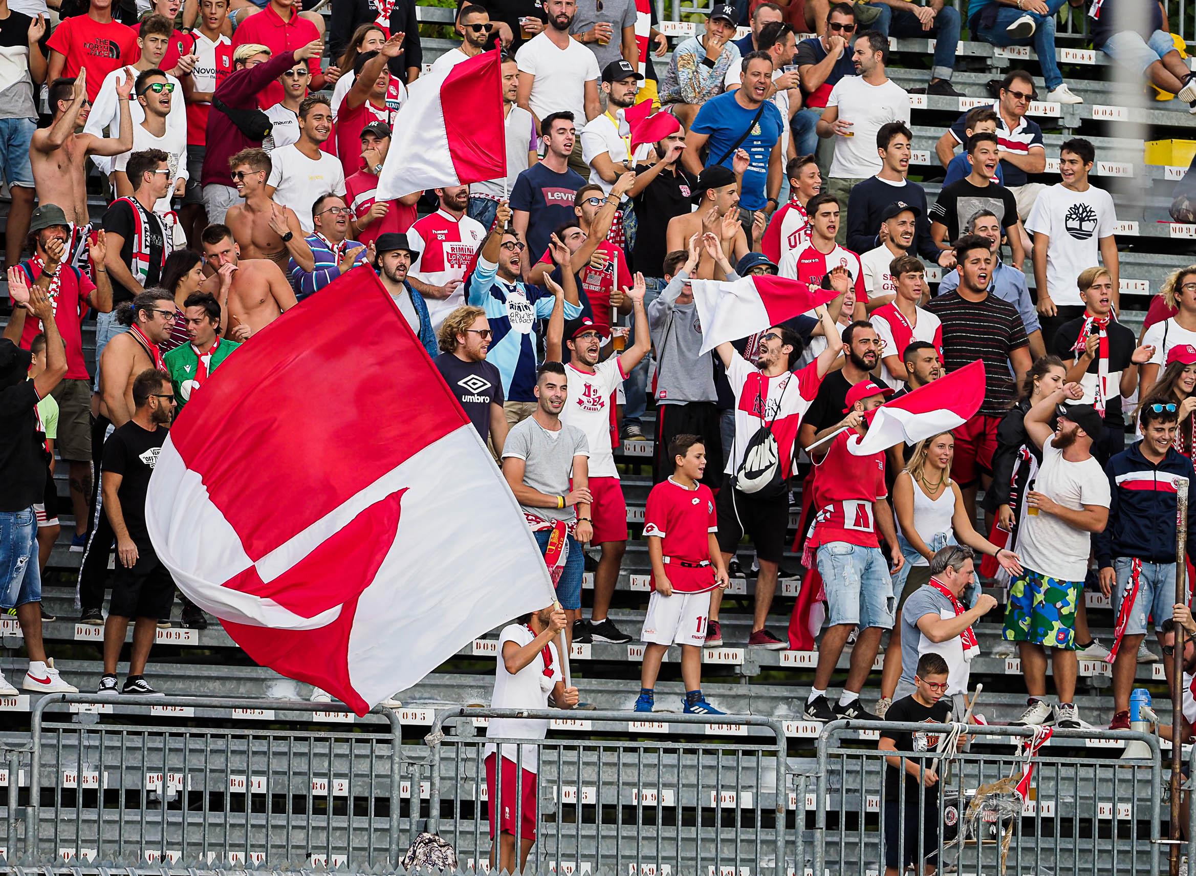 Calcio serie C, al via la prevendita per Rimini-Virtus Verona