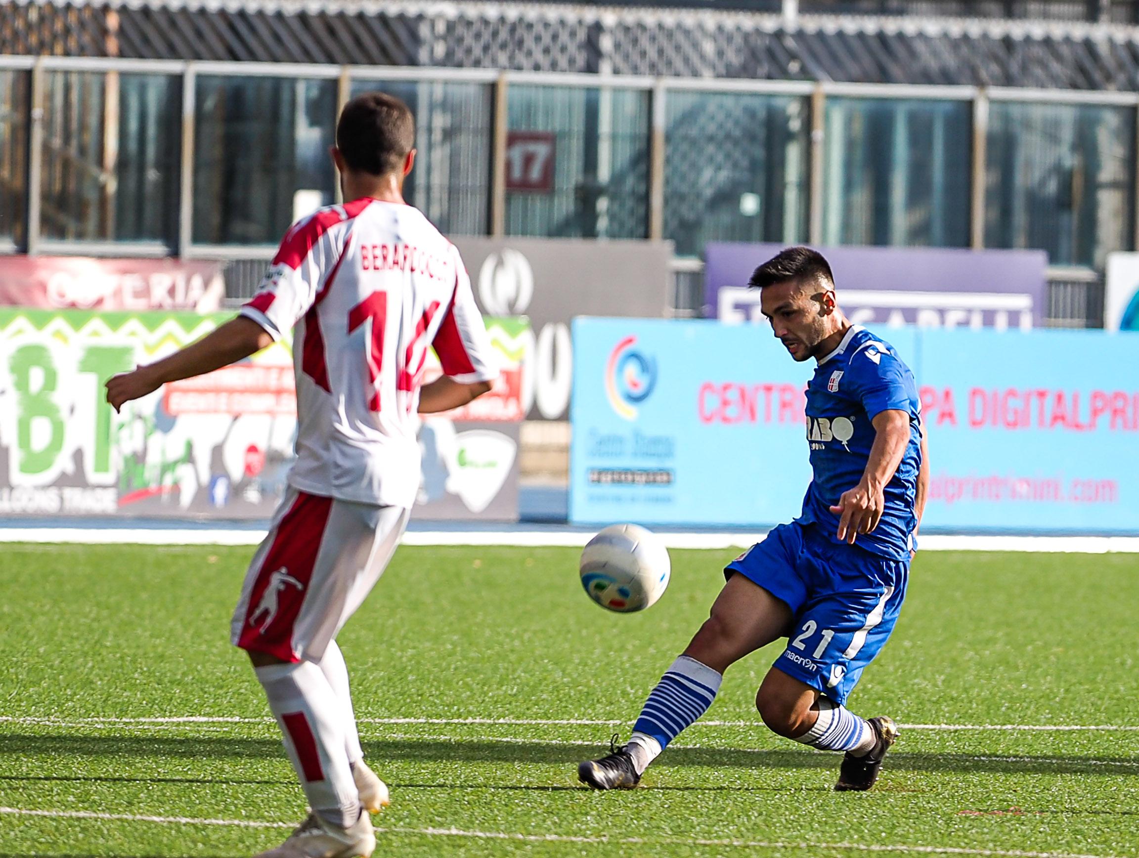 Calcio serie C, Rimini al Neri con l'esame-Fermana