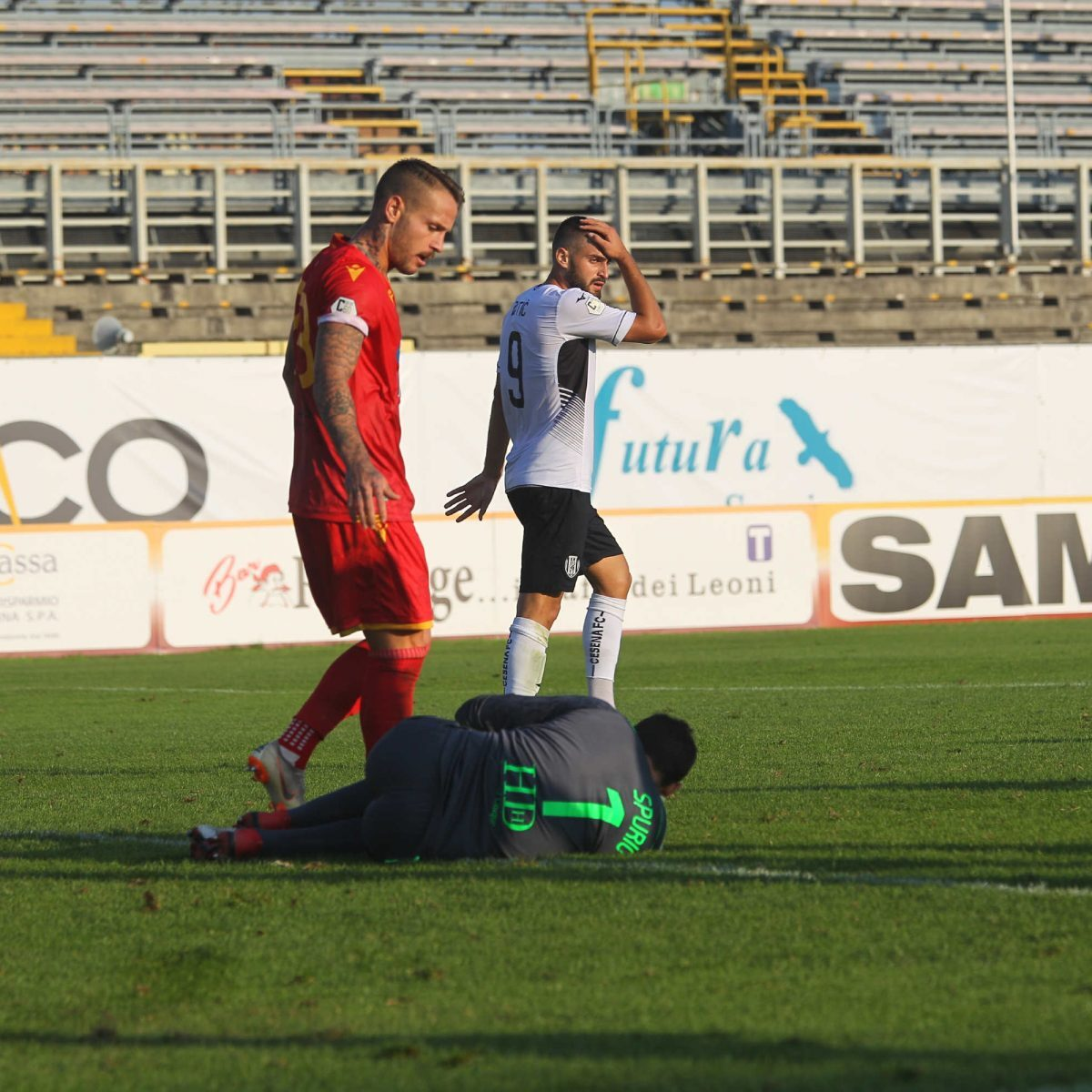 Calcio serie C, un turno di stop a Sirri, Alimi e Cigliano
