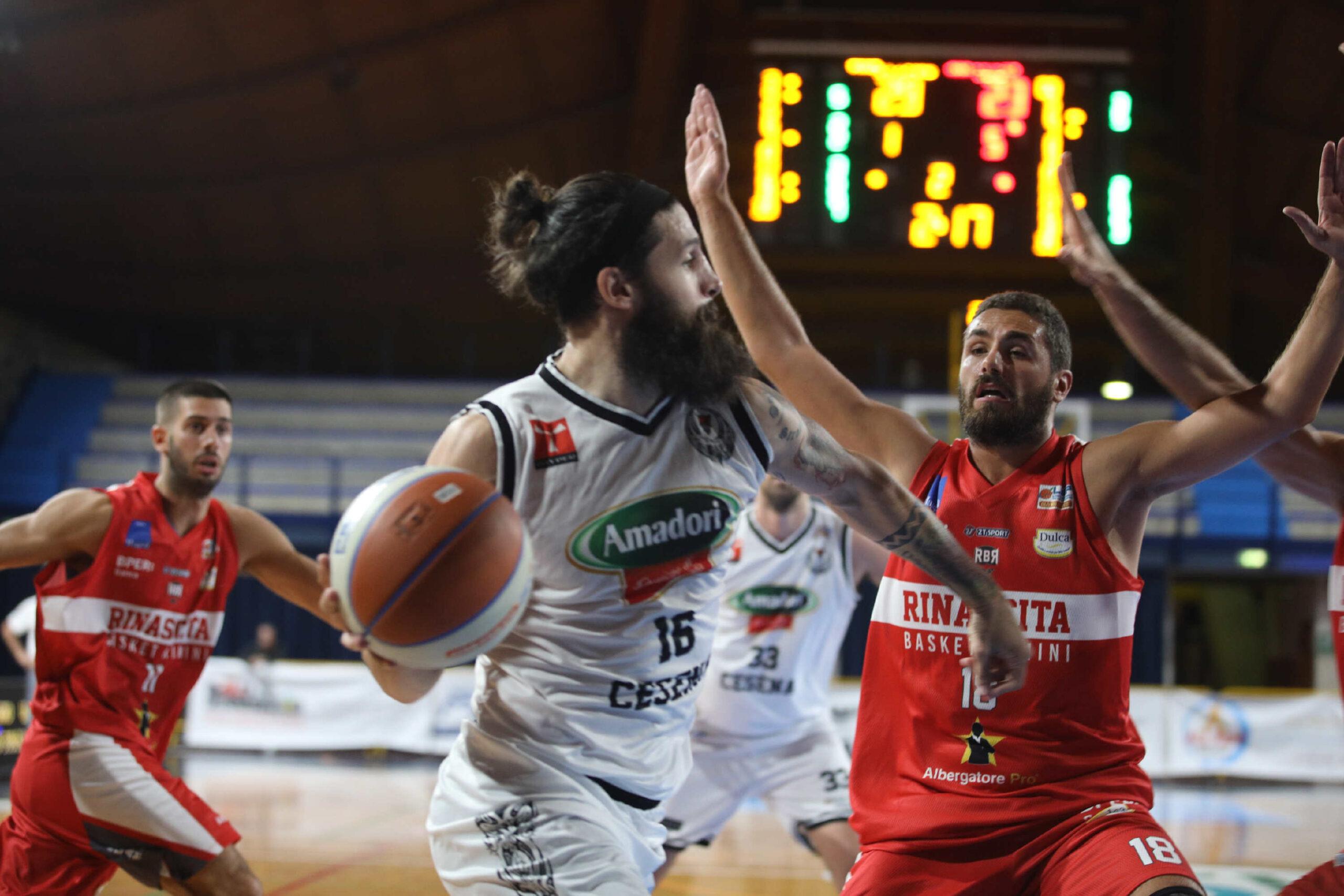 Basket serie B, il derby Cesena-Rimini è targato Tigers