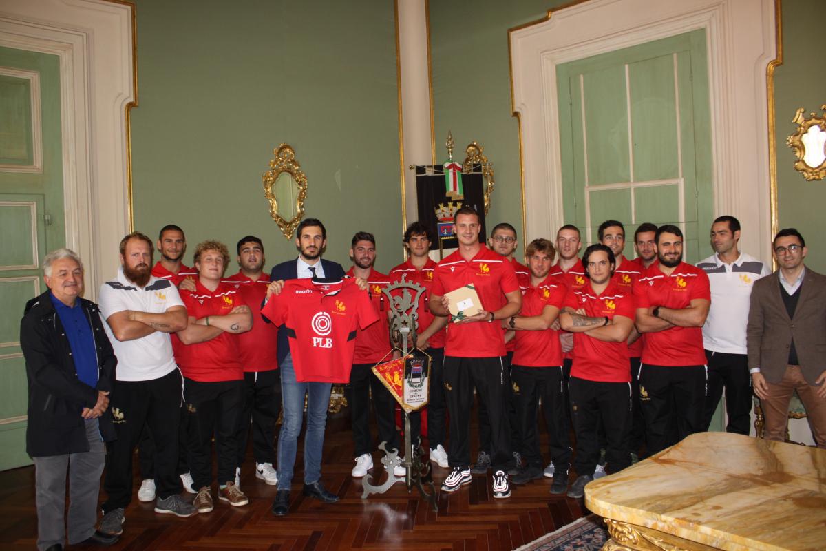 Rugby, il saluto del sindaco di Cesena al Romagna RFC