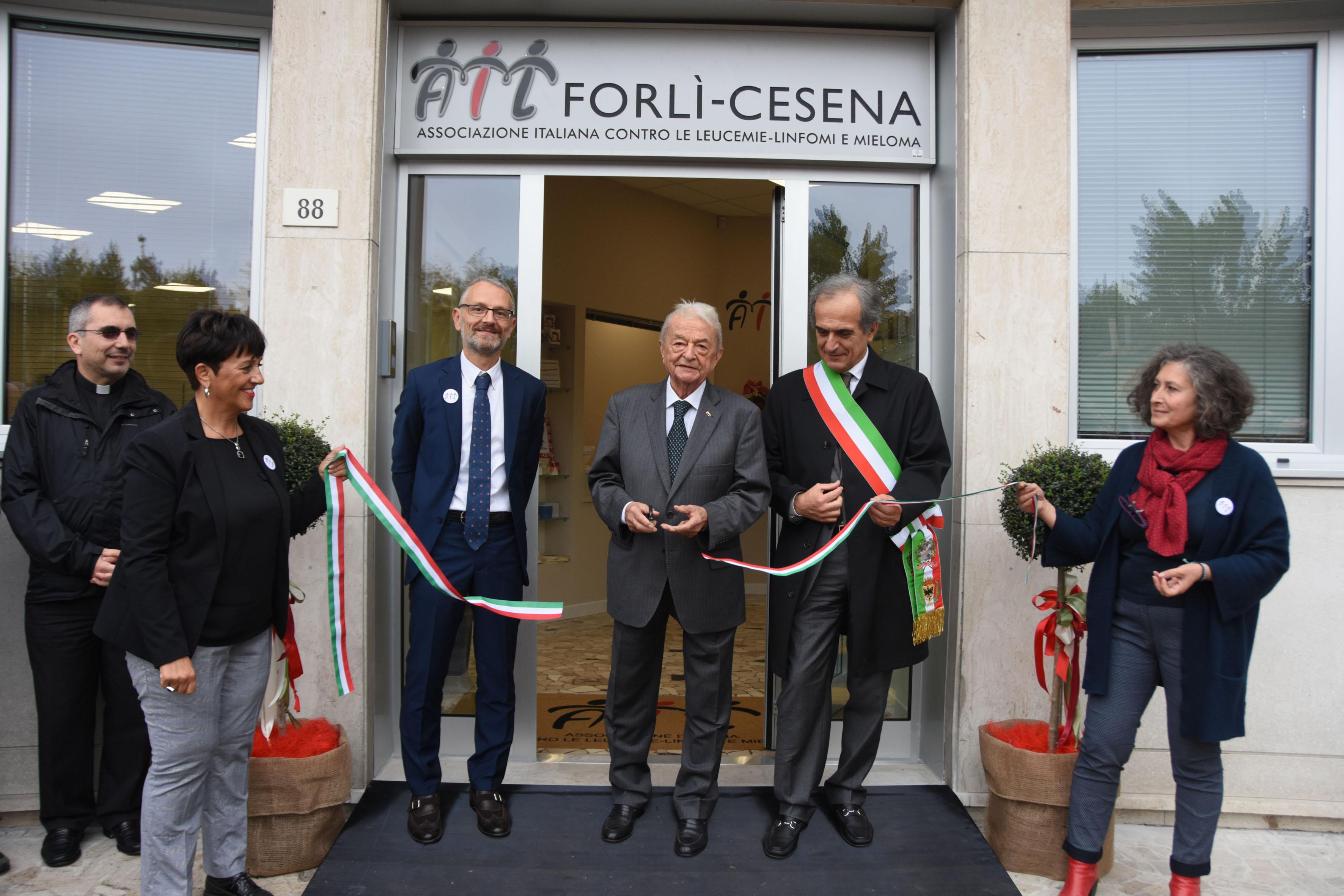 Inaugurata a Forlì nuova sede dell'Ail