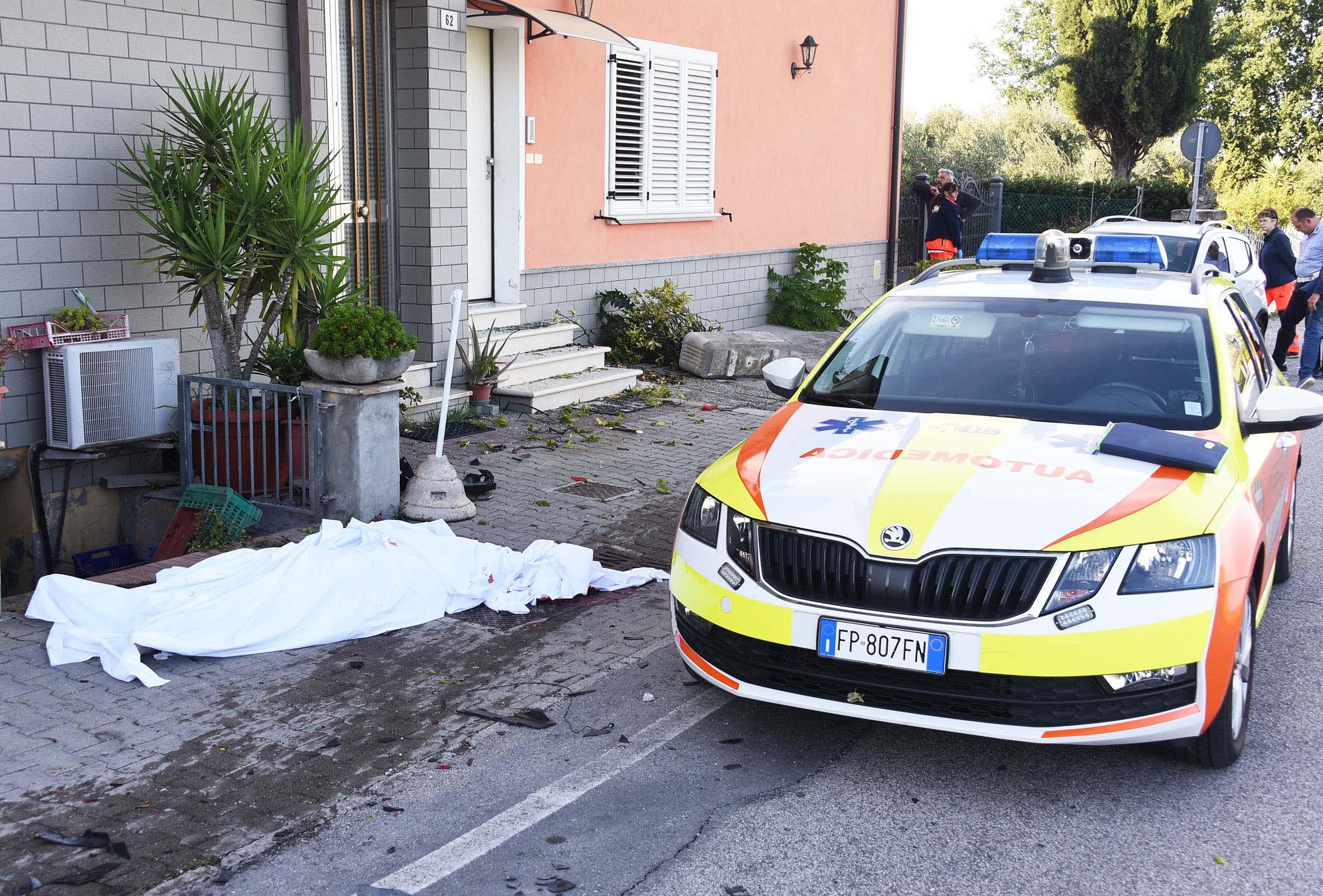 Donna travolta e uccisa davanti al figlio da un Suv a Santarcangelo