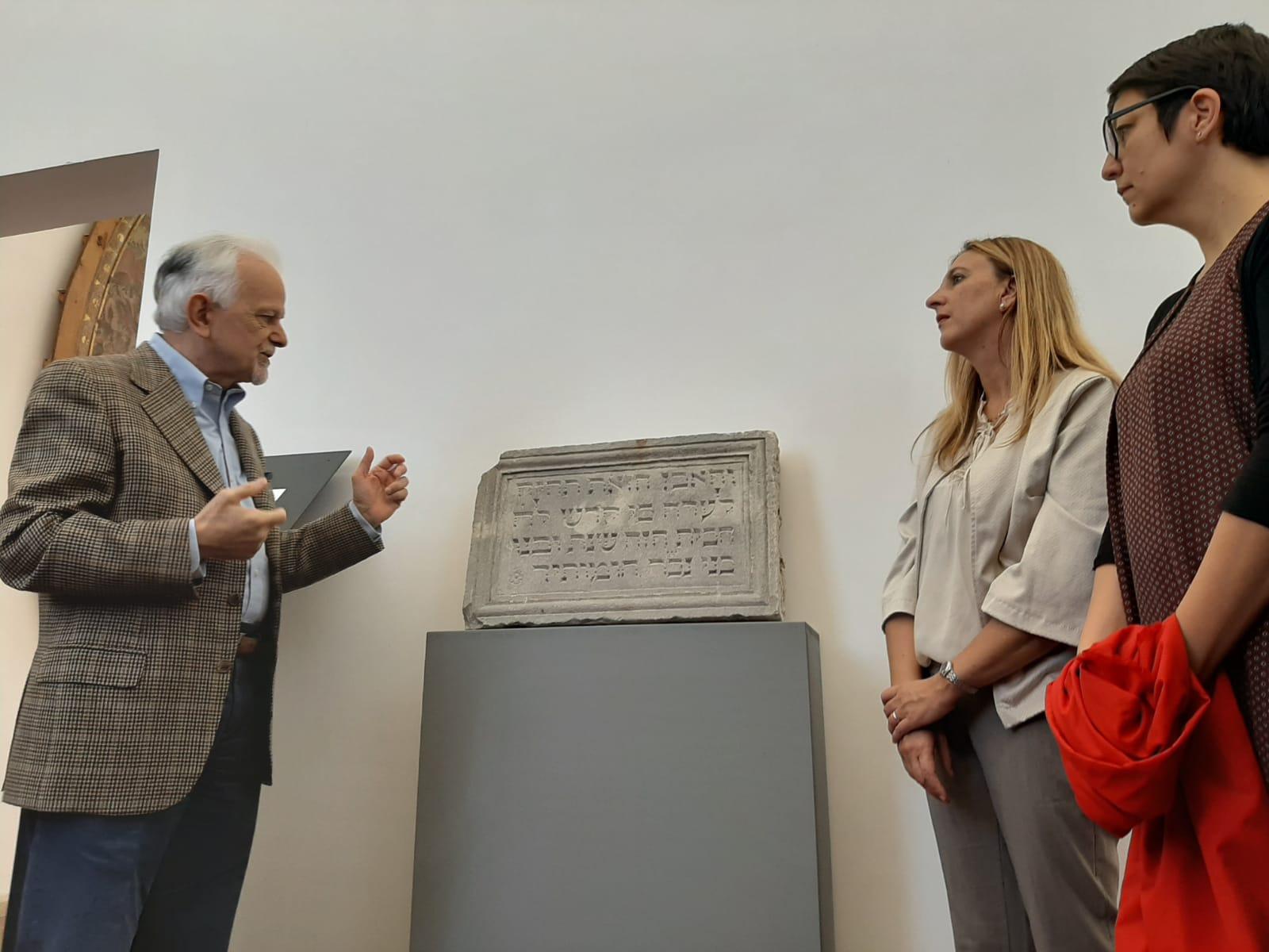 Rimini. Svelata al museo epigrafe in ebraico  del 1510