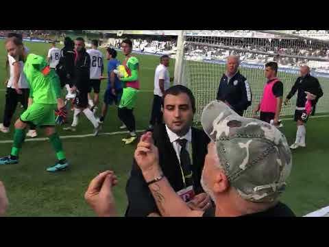 Calcio serie C, il confronto finale tra il Cesena e i tifosi - video