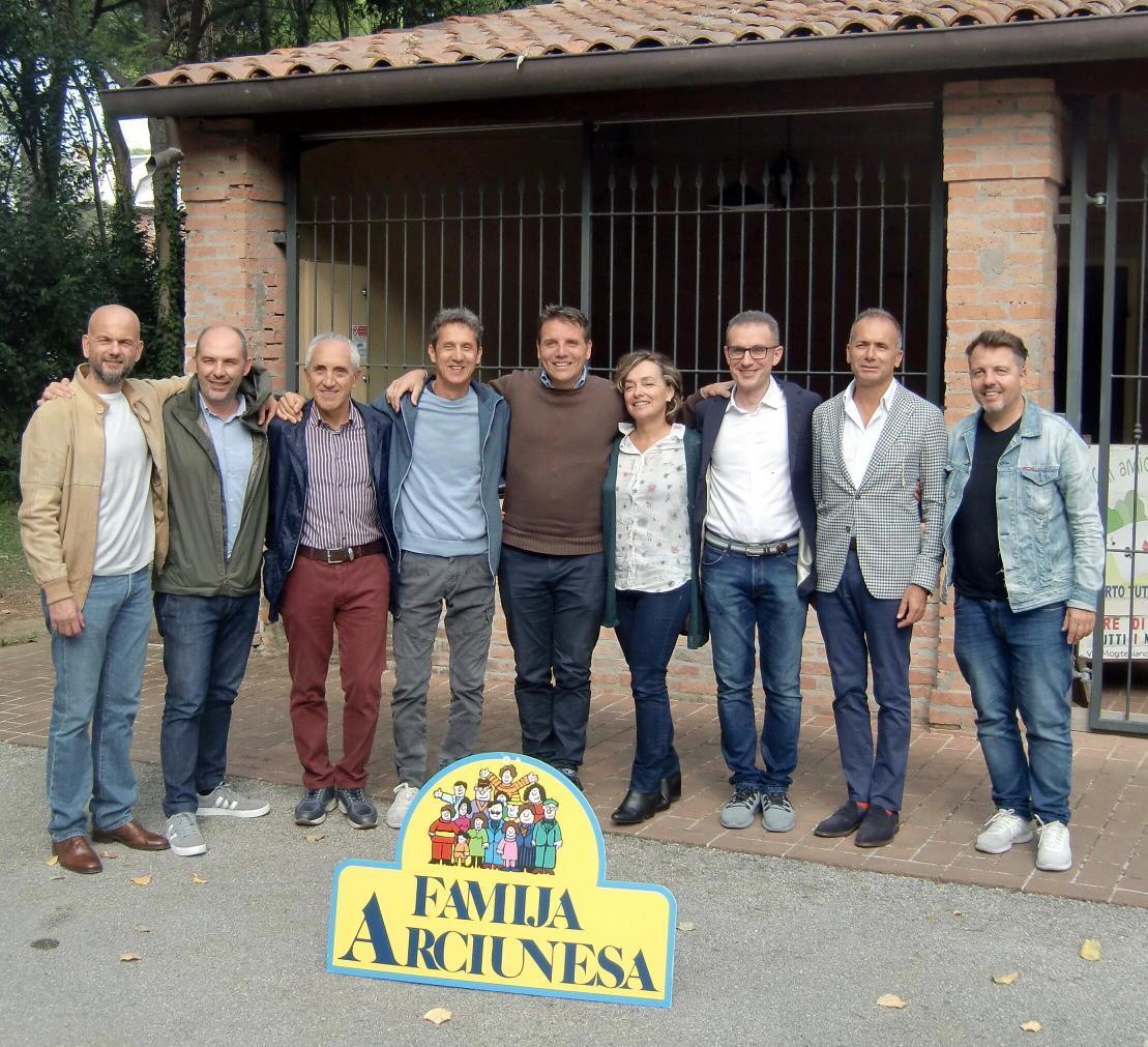 Famija Arciunesa, Francesco Cesarini è il nuovo presidente