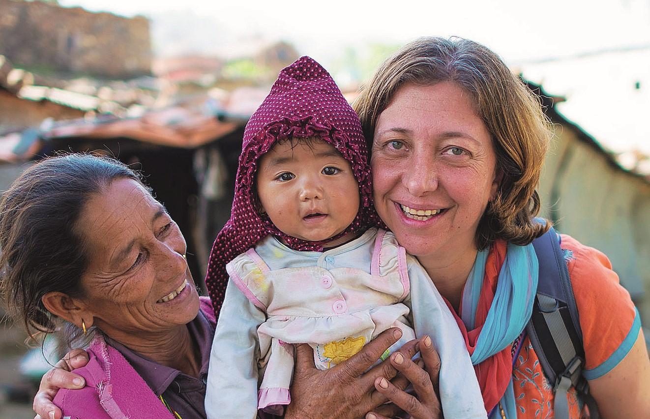 Da Cesena al Nepal, ex avvocato eroina dei diritti delle donne