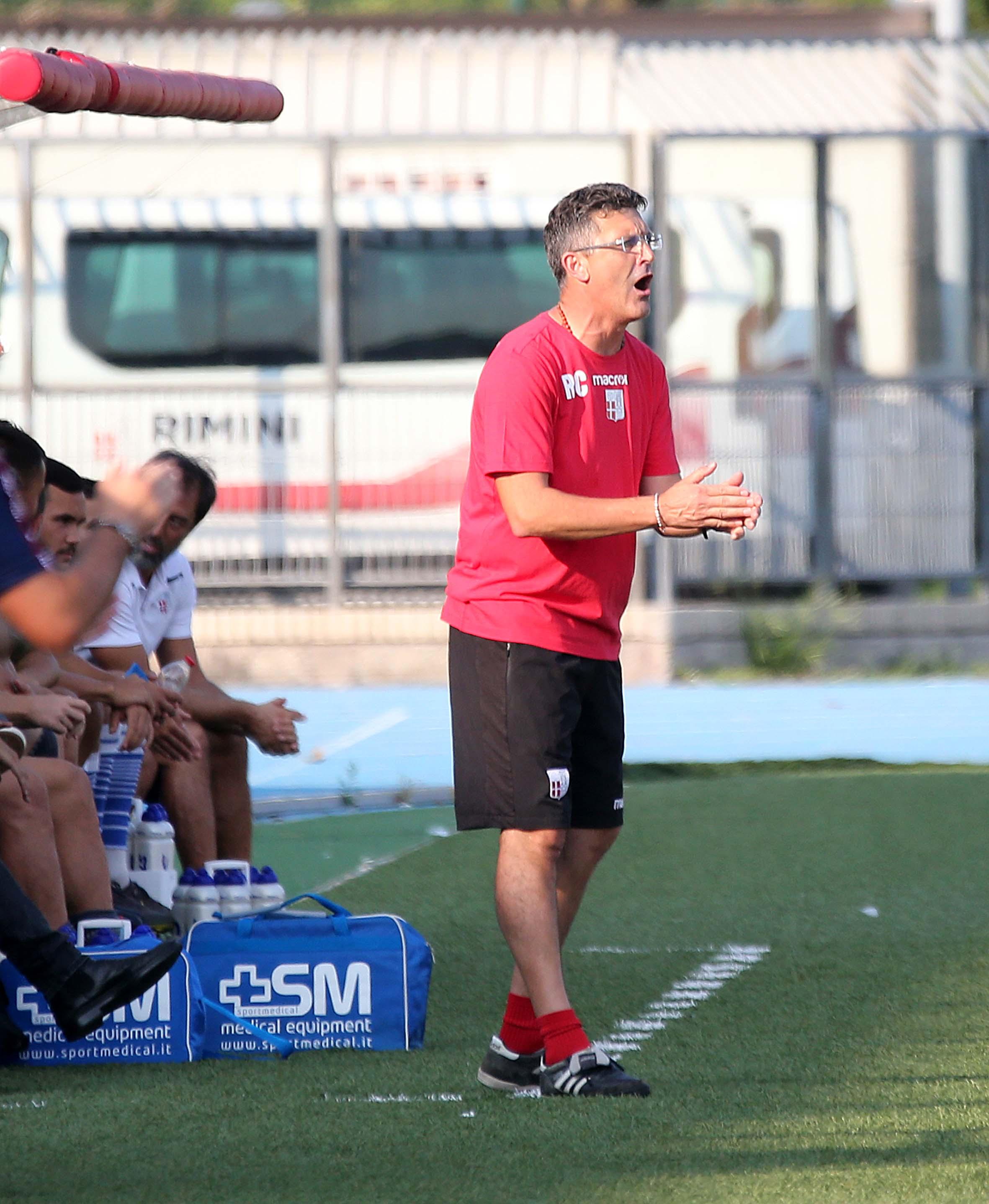 """Calcio serie C, il Rimini: """"Fiducia totale in Cioffi"""""""