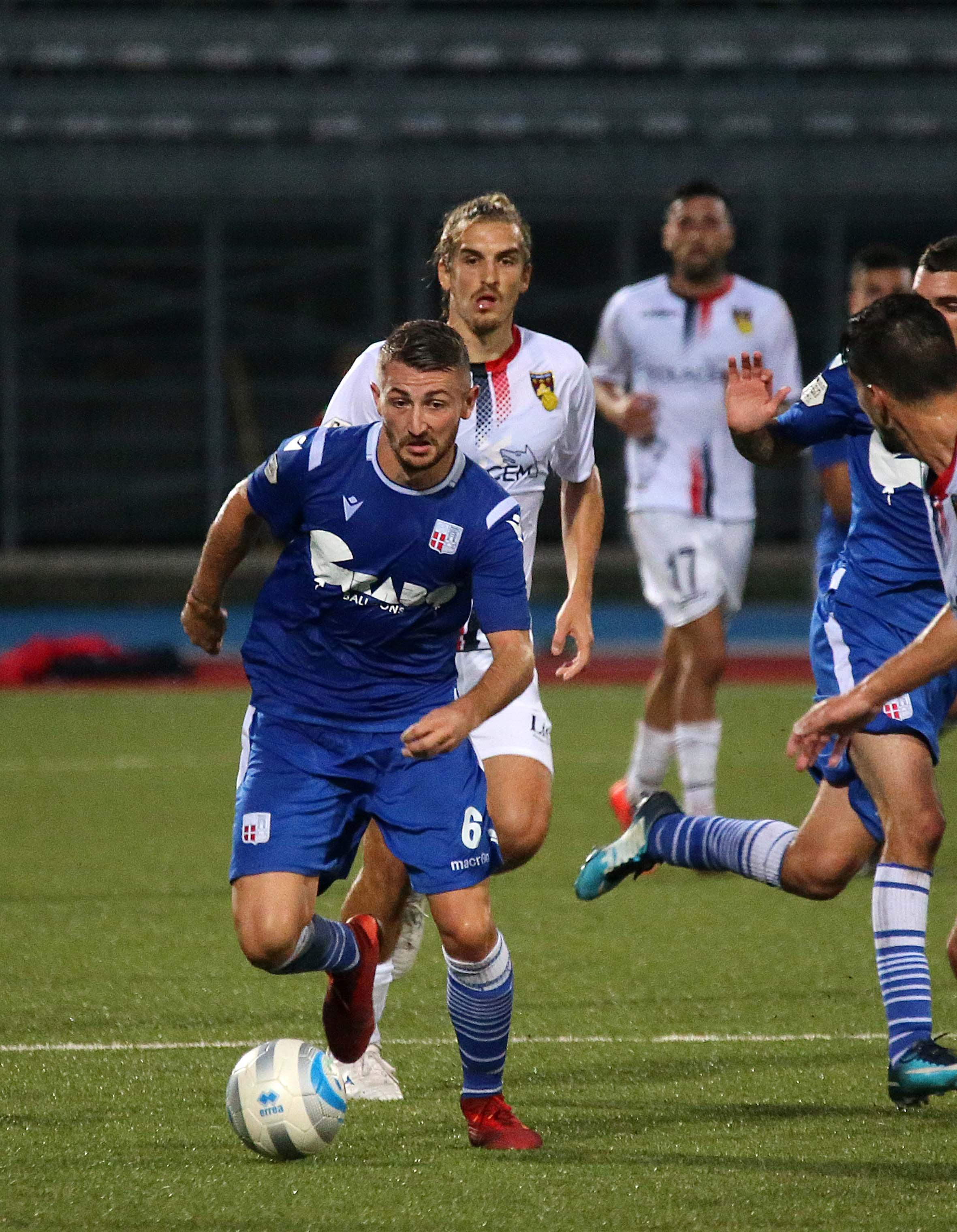 """Calcio serie C, il Rimini va a picco al """"Romeo Neri"""""""