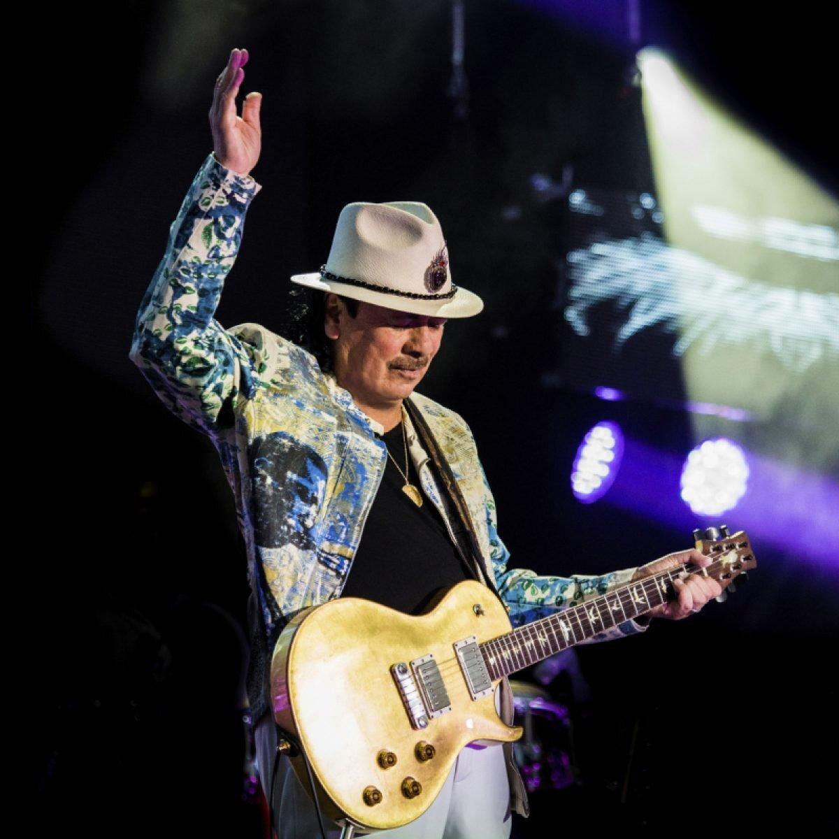 Santana: unica data del tour a Bologna il 14 marzo