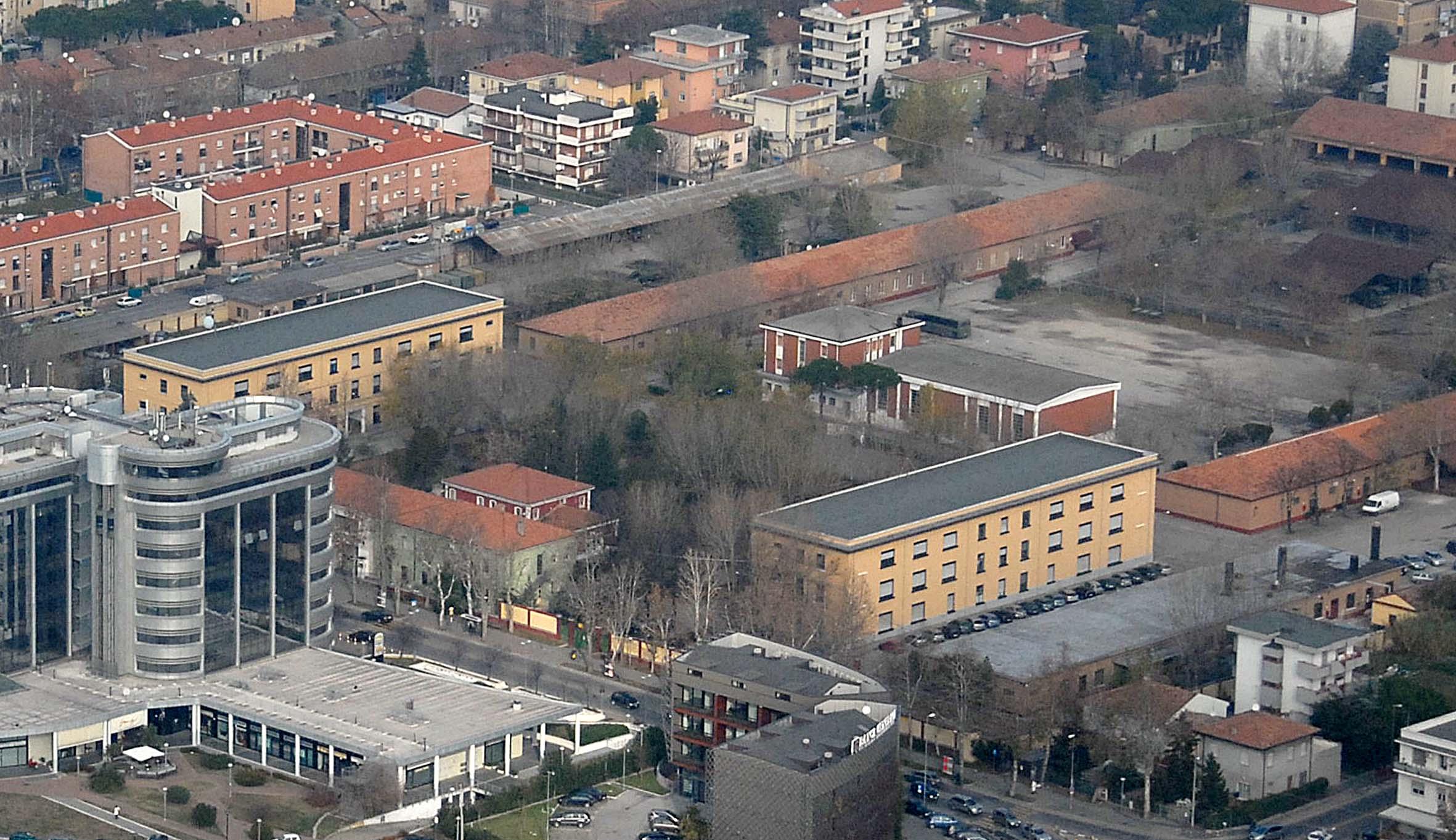 Rimini, la caserma Giulio Cesare base dell'adunata degli Alpini