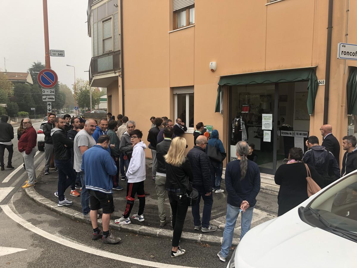 Calcio Serie C, verso Ravenna-Cesena: settore ospiti già esaurito